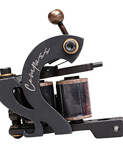 Steel Wire-Cutting Dual Coils 8 Wraps Tattoo Machine for Liner