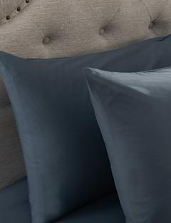 einfach&opulence® 2er-Pack Kissenbezug-Set, 300 tc 100% Baumwolle einfarbig hellblau