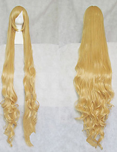GOSICK Victorique De Blois Blonde Long Curly Cosplay Wig