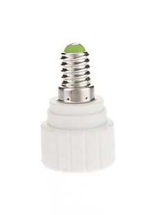 E14 to GU10 LED Bulbs Socket Adapter