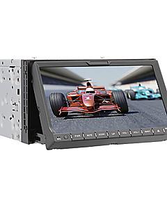 "Bluetooth, gps, ipod girişi, RDS, stereo radyo ile 7 ""2 din dokunmatik ekran lcd in-dash araba dvd oynatıcı"
