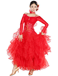 Dancewear Spandex Og Tulle Modern Dance Dress For Ladies (flere farger)