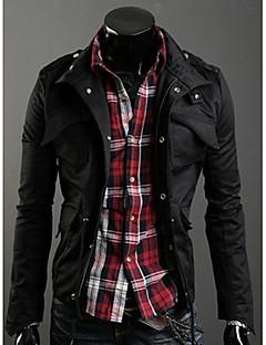 Miesten kauluksella Korea Style Slim Jacket