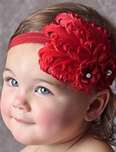 Mädchen Rote Blume Haarband