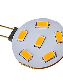3W G4 Spot LED 6 SMD 5730 120-150 lm Blanc Chaud / Blanc Froid DC 12 / AC 12 V