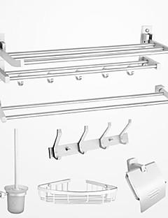 Badkamer accessoiresets,Modern Chroom Muurbevestiging