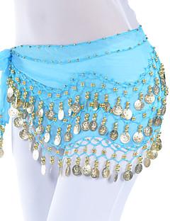 Břišní tanec Pásek Dámské Trénink Šifón Lemování / Mince Jeden díl Šátek přes boky