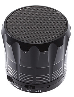 S12 Bluetooth Speaker TF kortinlukija (Musta)