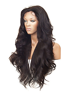 "26 ""100% Human Hair kändis Brazilian Hair Front Lace Wig"