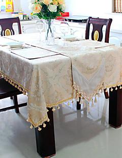 """Jacquard floral linge de table, chenille 40 """"* 40"""""""