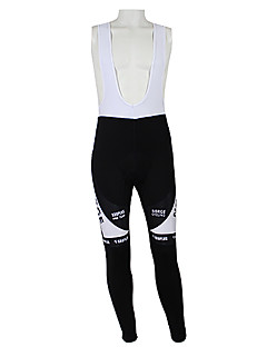 KOOPLUS® Cycling Bib Tights Women's / Men's / Unisex Bike Quick Dry / Windproof / Waterproof Zipper / Front Zipper / Dust Proof / Wearable
