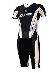 KOOPLUS® Tri Suit Women's / Men's / Unisex Short Sleeve Bike Breathable / Quick Dry / Moisture Permeability / WearableCoveralls /