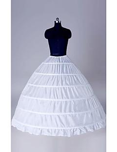 Slips Ball Gown Slip Floor-length 1 Polyester White