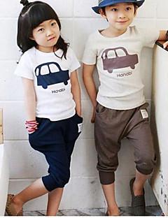 Pojke Fashion T-shirt + shorts Ställer Lovely Summer Two Pieces Sport Ställer Kläder Set