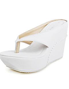 Flip-flop papucsok - Parafa - Női cipő - Szandál - Alkalmi - Bőrutánzat - Fekete / Rózsaszín / Fehér