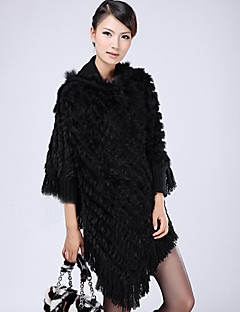 Rabbit Fur Party/Casual Shawl/Hood(More Colors)