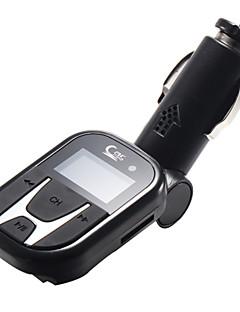 Moderigtigt svingningsaksen Bil MP5 USB / TF afspiller med FM Modulator