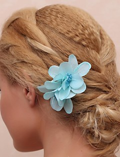 Women's/Flower Girl's Fabric Headpiece - Wedding/Special Occasion/Outdoor Flowers