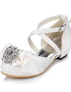 Per bambina Scarpe da sposa Comoda Ballerine Matrimonio Avorio/Bianco