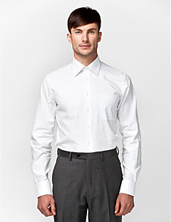 White 100% Cotton Solid Shirt