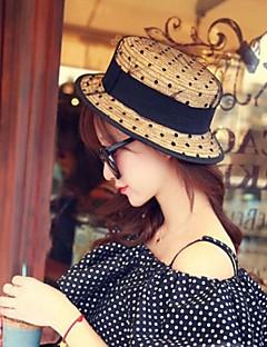 Dámská móda Net příze Lace Straw Hat