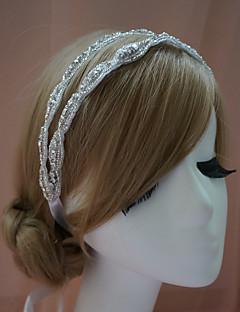 Ženy imitace drahokamu Přílba-Svatba Zvláštní příležitost Čelenky