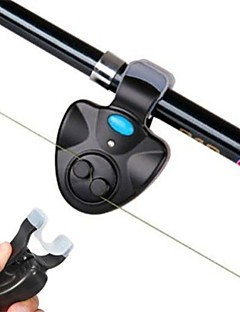 Fiskealarmer Fiskestang LED Lampe Universel LED alarm med clips Bærbar Holdbar Strømsparefunktion Elektronisk Lydaktiveret Nem at montere
