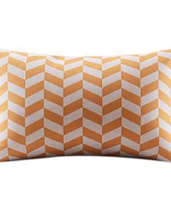 Elegante Padrão Geométrico algodão / Linen Decorrative fronha