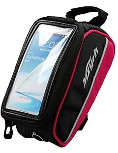 Bolsa para Quadro de Bicicleta / Bolsa Celular (Vermelho / Preto , Terylene / EVA) Bolsa Kettle Embutida / Touch Screen Ciclismo