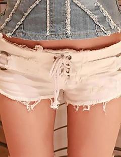 Kvinner Bukse Denim Sexy / Party