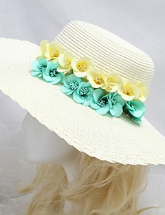 Women's Flower Girl's Paper Headpiece-Special Occasion Casual Outdoor Hats