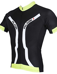 PALADIN Men's Cycling Tops / Jerseys Short Sleeve Bike Spring / Summer Breathable / Ultraviolet Resistant / Quick DryWhite / Black /