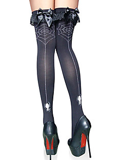 Socks/Stockings Festival/Holiday Halloween Costumes Black Stockings Halloween / Carnival Female Terylene