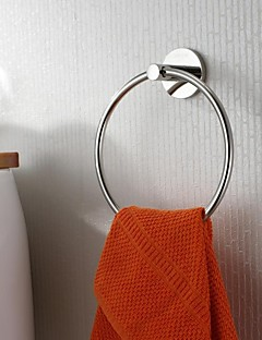 Stainless Steel Bright Polished Finish Towel Ring