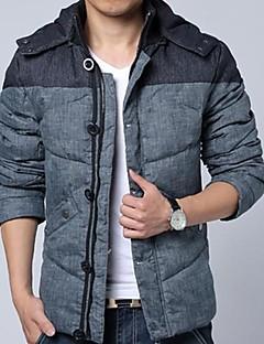 Men's Hoodie Casual Long Sleeve Feather Mian Mian Clothing Coat