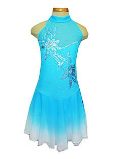 Bleu Spandex patinage artistique robe de la fille (Assorted Taille)
