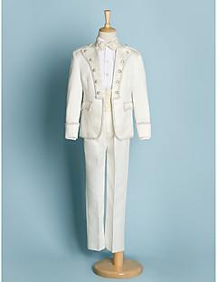 Polyester Oblek pro mládence - 5 Pieces Obsahuje sako / Tričko / Kalhoty / pas / Motýlek