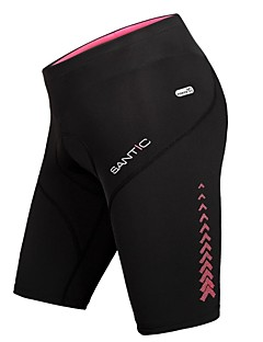 SANTIC® Cycling Shorts Women's Breathable / Reflective Strips / 4D Pad Bike Bottoms Nylon Solid Equestrian / Leisure Sports / Cycling/Bike