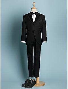 Ring Bearer abiti neri giovane lag abiti formali nero (1634568)