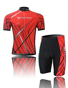 XINTOWN® Cycling Jersey with Shorts Men's Short Sleeve BikeBreathable / Quick Dry / Moisture Permeability / Compression / Lightweight