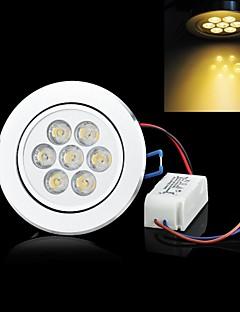 Plafonniers Décorative Blanc Chaud LUO C 7 W 7 LED Haute Puissance 700 LM 3500 K AC 85-265 V