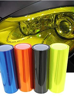 LORCOO Car light membrane translucent membrane heterochrosis membrane scrub rear light film 60cm*30cm