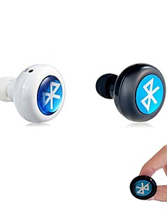 hörlurar bluetooth 3.0 in-ear hörlurar headset med mikrofon för iPhone 6/6 plus samsung laptop tablett