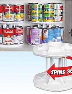 fehér műanyag 2 rétegű levehető 14 kapacitás Tamer tároló szervezője