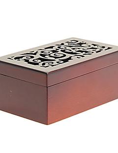 boîte à musique en bois pour les jouets de bijoux de stockage