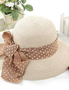 женская керлинг ленты пляж шляпа