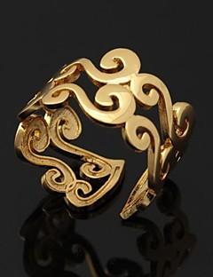 Gyűrűk Esküvő / Parti / Napi / Hétköznapi / Sport Ékszerek Platina bevonat / Arannyal bevont NőiPáros gyűrűk / Midi gyűrűk / Karikagyűrűk