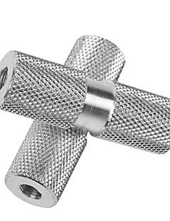 duuti 1 пара BMX велосипед алюминиевого сплава задняя ось серебряные твердое передней подножки