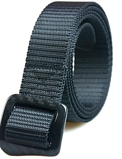 Rockway® Outdoors Unisex Carbon Fiber Buckle Nylon Black Fashionable Belt