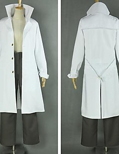 Inspired by Psycho-Pass Shogo Makishima Anime Cosplay Costumes Cosplay Suits Patchwork White Long Sleeve Coat / Shirt / Pants